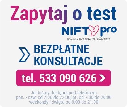 Zapytaj o test NIFTY pro